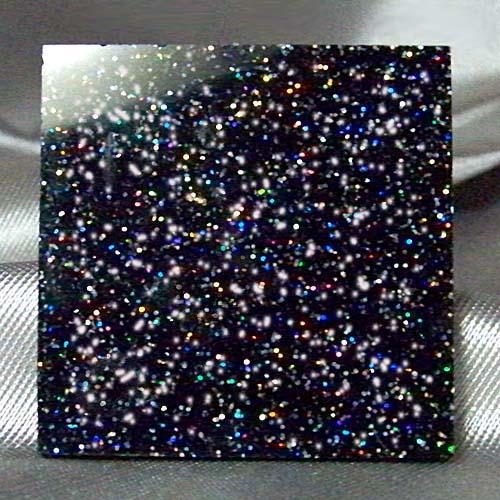 Glitters Galaxy Plastic